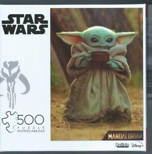 New/Sealed Buffalo Games Star Wars The Mandalorian Baby Yoda/Grogu 500 Pc Puzzle