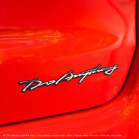 Griben Car Emblem Handwriting Metal Chrome Badge 70308 for 4WD Truck SUV