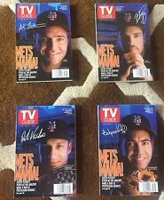 TV Guides 4 Issue Lot Sept. 25-Oct. 1, 1999 Mets Signature Series
