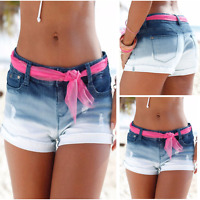 2018 New Women Girls Casual Hot Pants Summer Denim Sexy Shorts Jeans Short