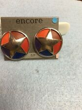 Earring Clip on Encore Star Circle S53C+