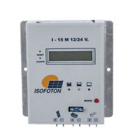 ISOFOTON I - 15 M 12/24 V.  Solar charge controller regulator