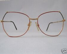 Beauty & Gesundheit Vintage Fassung Damen Brille Transparent Lozza Hippie Große Glasform Grösse L