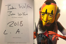 JORDAN WOLFSON SIGNED Ecce Homo Le Poseur Hardcover Book Monograph Jonas Wood