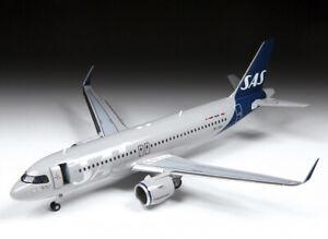 Zvezda Model Kit 7037 Civil Airliner Airbus A320neo, scale 1/144