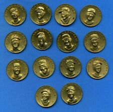 1969 Citgo Metal Coin Lot 14 different