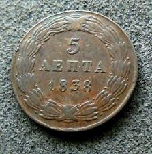 Grèce 5 Lepta 1838  [12867]