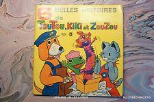 (1930T.2) 6 BELLES HISTOIRES DE TOUTOU, KIKI ET ZOUZOU 1973 EDITIONS M.C.L  ORTF