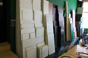 OVER 200 CONTI BOARD PIECES VARIOUS SIZES WHITE, Mahogany ,black CLEAR OUT