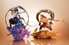 Megahouse G.E.M Remix NARUTO Shippuden Naruto Fuujin Sasuke Raijin Figure Set