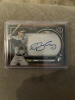 2020 TOPPS TRIBUTE SEAN MURPHY ROOKIE ON-CARD AUTO SP #/199 OAKLAND ATHLETICS