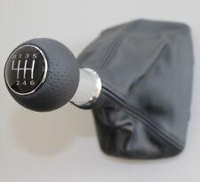 Audi a3 8l original s-line cuero palanca de cambio del circuito pinzamiento circuito perforada botón 6-g