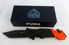 Puma Tanto Messer Taschenmesser Rescue Rettungsmesser  Einhandmesser Rettung Rot