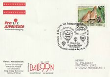 BPÖ_200 Ballonpostwerbeschau Bad Waltersdorf 01.09.1999 - Markenmotiv Rebhuhn