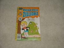 RICHIE RICH Zillionz #14 Harvey Comic February 1979 VF 8.0 Free Shipping