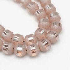 70pcs 8-9mm  Electroplate Glass Beads-898F