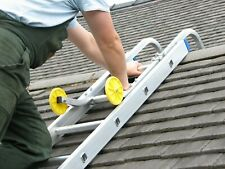 Ladder Roof Hook & Wheels - Convert Your Ladder to a Roof Ladder