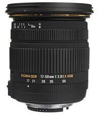 Sigma Objektive und Filter