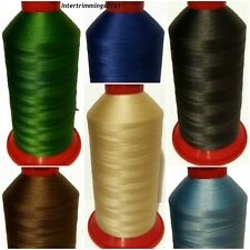 TOP QUALITY DURAFIX 100% POLYESTER THREAD 80'S, 5000MTR SPOOL, VARIOUS COLOURS