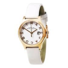 Marc Jacobs Women's Watch Quartz White Dial Leather Strap MBM9057