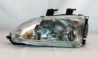 Left Side Replacement Headlight Assembly For 1992-1995 Honda Civic