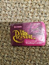The Dark Crystal Full Color Trading Cards Pack  1982 Henson Associates, Inc.