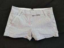 "J.Crew Women's 100 % Cotton 3"" Embroidered Seersucker City Fit Shorts Size 0"