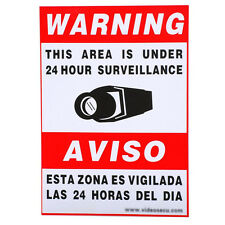 16x Home Security Camera Sticker Warning Decal Weatherproof Vinyl Alarm Sign Clz