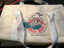 PROPERTY OF BEAGLE BEACH, SNOOPY CARRIER/ COOLER BAG NEW