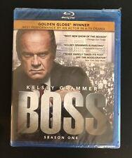 BOSS: Season One (Blu-ray Disc, 2012, 2-Disc Set) NEW Sealed FREE SHIPPING