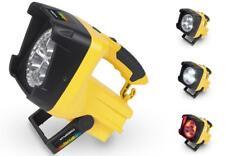 LED PILA Foco de construcción Luz Trabajo Linterna campingstrahler Señalización
