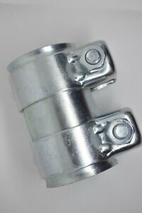"""Universal 2.25"""" joiner / Connector 56mm to 60mm - 95mm Long Exhaust Pipe Sleeve"""
