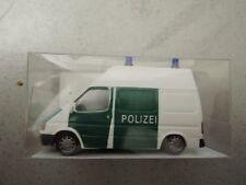 Rietze 50629 Ford Transit Bus HD Polizei grün/weiß OVP aus Polizei-Sammlung (*4)