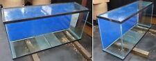 LARGE HEAVY GLASS USED 100 GALLON FISH AQUARIUM TANK 58 x 19 x 29 INCHES USA