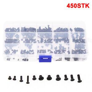 450 Stk Schrauben Screw Assorted Set Reparatur Zubehör Für Laptop Handy Computer