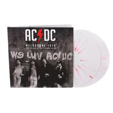 AC/DC 'Melbourne 1974 & The TV Collection' Red/White Vinyl - NEW