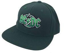 AC/DC St. Paul MN Tree Event Concert Green Baseball Hat Cap New Official Merch