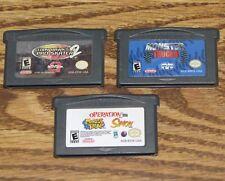 Game Boy Advance Lot Tony Hawk's Pro Skating 2/Mouse Trap/Operation/Simon/Trucks