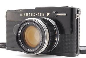 *EX+5*  Olympus Pen FT Black Film Camera w/ 40mm F/1.4 Lens From Japan