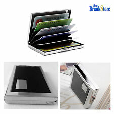 Stainless Steel Wallet Credit Card Id Holder Men Travel Slim Anti Theft Case
