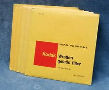 KODAK WRATTEN 6X6 FILTERS - SECOND HAND, INSPECTED - YOUR CHOICE $23.99 SHIPPED