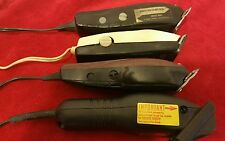 CLIPPERS 4 PAIRS ALL WORKING SELLING FOR PARTS OR REPAIR ###(P-19)