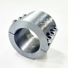 "LED Light Bar Mounted Steel Single Collar Tube Clamp 2"" O.D. for Bobcat Toolcat"