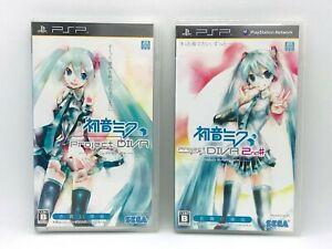 Hatsune Miku Project Diva 1, 2nd Set PSP Japan Import