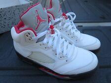 Air Jordan 5 Fire Red 9.5 Retro 2013 136027 100 AJ V