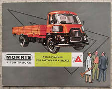 MORRIS 4 TON TRUCKS Commercial Sales Brochure Oct 1959