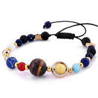 US! Eight Planets In The Solar System Bracelet Beads Jewelry Gift for HerCollect