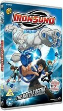 MONSUNO THE BATTLE BEGINS SERIES 1 VOL 1 DVD NEW SEALED ALL REGIONS