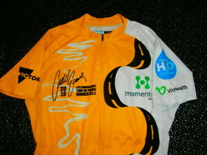 Cadel Evans Yellow Tour De France WINNER 5 YEAR ANNIVERSARY 2016 CYCLE Jersey LE