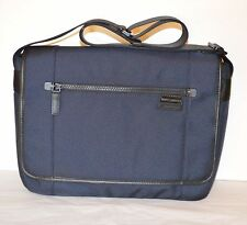 New $228 Michael Kors Travis Large Messenger Bag Black Briefcase Laptop